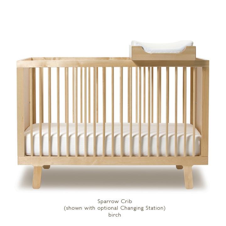 oeuf sparrow crib birch changing station.jpg