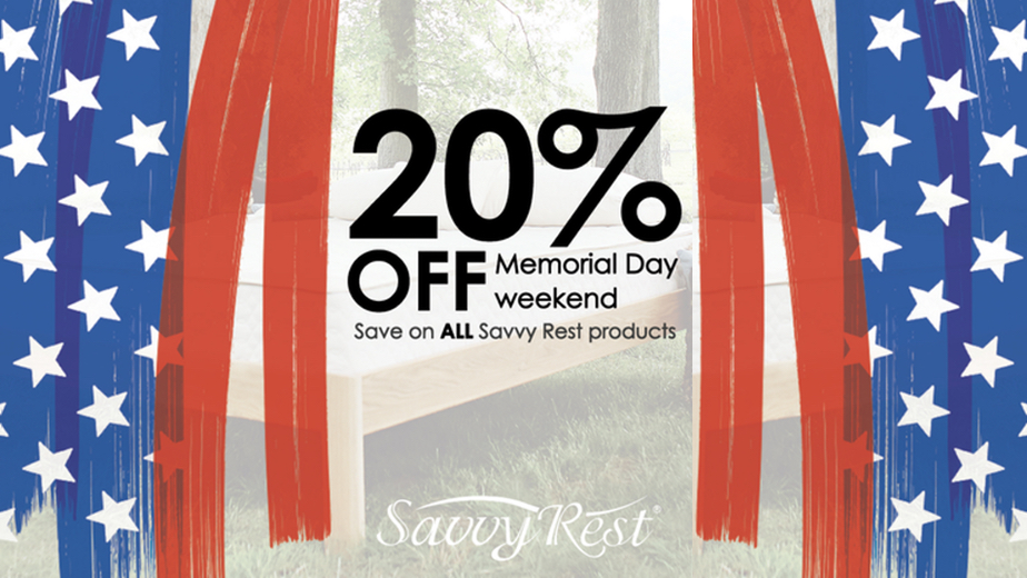 savvy rest memorial day 2018