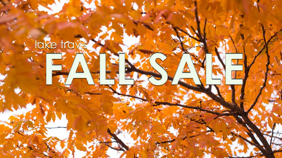lake travis fall sale 2018