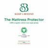 organic cotton waterproof mattress protector pic 2